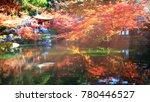 the daigo ji temple with... | Shutterstock . vector #780446527