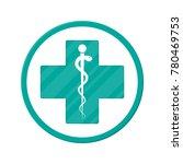 caduceus icon. symbol of... | Shutterstock . vector #780469753