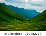 landscape with mountains ... | Shutterstock . vector #780482197