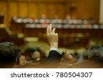 members of romanian parliament...   Shutterstock . vector #780504307