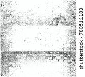 black and white grunge... | Shutterstock . vector #780511183