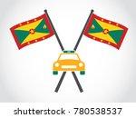 grenada emblem taxi   Shutterstock .eps vector #780538537