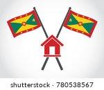 grenada emblem house   Shutterstock .eps vector #780538567