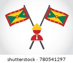 grenada emblem builder   Shutterstock .eps vector #780541297