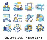 finance software app... | Shutterstock .eps vector #780561673