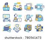 finance software app... | Shutterstock .eps vector #780561673