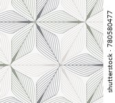 linear vector pattern ... | Shutterstock .eps vector #780580477