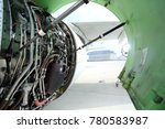aircraft engine engine | Shutterstock . vector #780583987