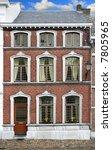 building tenement belgium | Shutterstock . vector #7805965
