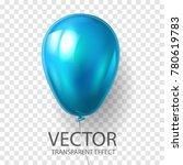 realistic 3d render blue...   Shutterstock .eps vector #780619783