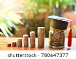 coins saving money increase... | Shutterstock . vector #780647377