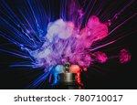 electronic cigarette vape... | Shutterstock . vector #780710017