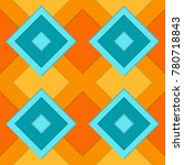 the seamless pattern consisting ...