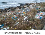 the problem of pollution and... | Shutterstock . vector #780727183