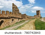 the ruins of the ancient... | Shutterstock . vector #780742843