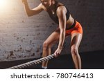close up photo of athletic... | Shutterstock . vector #780746413