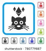 ethereum crypto kitty icon....