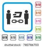 people dash blockchain icon.... | Shutterstock .eps vector #780786703