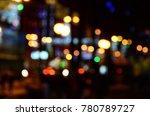 blurred city lights | Shutterstock . vector #780789727