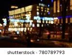 blurred city lights | Shutterstock . vector #780789793