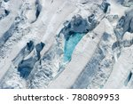 aerial view of glaciers in... | Shutterstock . vector #780809953