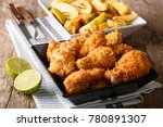delicious food  deep fried... | Shutterstock . vector #780891307