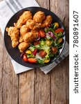 deep fried chicken wings in... | Shutterstock . vector #780891607