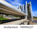 industrial pipeline equipment... | Shutterstock . vector #780900127