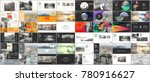 big bundle of clean and minimal ... | Shutterstock .eps vector #780916627