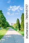 street alley in krasnodar | Shutterstock . vector #780945757