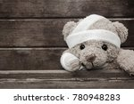 teddy bear with bandages and... | Shutterstock . vector #780948283