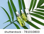 cosmetic bottle containers with ...   Shutterstock . vector #781010803