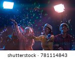 group asian young friends... | Shutterstock . vector #781114843