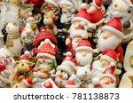 christmas toys in market   Shutterstock . vector #781138873