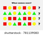 what comes next with different... | Shutterstock .eps vector #781139083