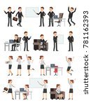 different business peoples male ...   Shutterstock .eps vector #781162393