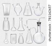 equipment for chemical... | Shutterstock .eps vector #781162657