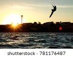 recreational water sports ... | Shutterstock . vector #781176487