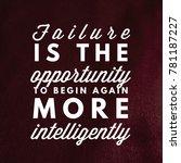 inspirational and motivational... | Shutterstock . vector #781187227