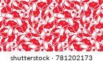 dog head french bulldog vector...   Shutterstock .eps vector #781202173