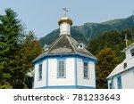 saint nicholas russian orthodox ... | Shutterstock . vector #781233643