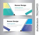 abstract web banner design... | Shutterstock .eps vector #781244923