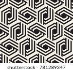 vector seamless pattern. modern ... | Shutterstock .eps vector #781289347