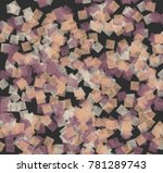 abstract background in pastel... | Shutterstock . vector #781289743