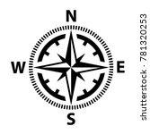 compass icon vector | Shutterstock .eps vector #781320253