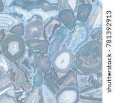 cut stone texture | Shutterstock . vector #781392913