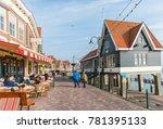 volendam  netherlands  ... | Shutterstock . vector #781395133