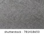 gray diagonal cloth  detailed ... | Shutterstock . vector #781418653