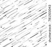 abstract cross hatching... | Shutterstock .eps vector #781503043