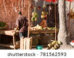 zanzibar  tanzania   august 10 ... | Shutterstock . vector #781562593